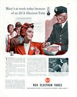 Mary's at work today because of an RCA electron tube