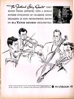 The Julliard String Quartet : they blend their artistry...