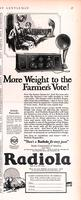 More weight to the farmer's vote!