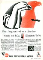 What happens when a shadow meets an RCA electron tube