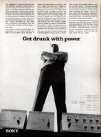 Get drunk with power