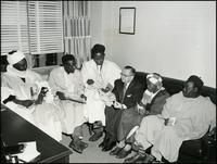 Nigerian visitors (November 1957)