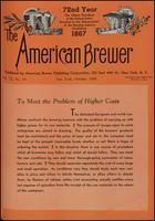 The American Brewer vol. 72, no. 10 (1939)