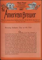 The American Brewer vol. 72, no. 06 (1939)