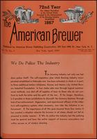 The American Brewer vol. 72, no. 04 (1939)