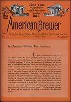 The American Brewer vol. 72, no. 11 (1939)