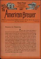 The American Brewer vol. 72, no. 09 (1939)