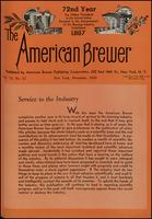 The American Brewer vol. 72, no. 12 (1939)
