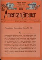 The American Brewer vol. 72, no. 08 (1939)