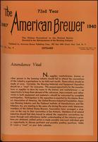 The American Brewer vol. 73, no. 09 (1940)