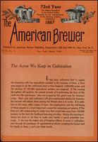 The American Brewer vol. 73, no. 03 (1940)