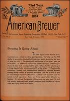 The American Brewer vol. 73, no. 02 (1940)