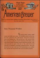 The American Brewer vol. 73, no. 08 (1940)
