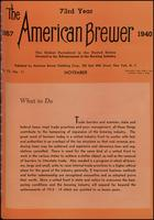 The American Brewer vol. 73, no. 11 (1940)