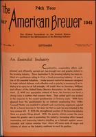 The American Brewer vol. 74, no. 09 (1941)