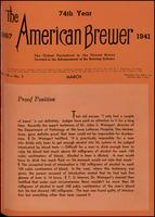 The American Brewer vol. 74, no. 03 (1941)