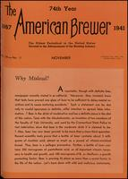 The American Brewer vol. 74, no. 11 (1941)