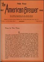 The American Brewer vol. 74, no. 01 (1941)