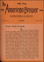 The American Brewer vol. 74, no. 10 (1941)