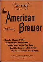The American Brewer vol. 75, no. 02 (1942)