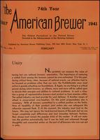 The American Brewer vol. 74, no. 02 (1941)