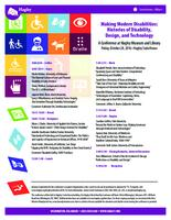 Making Modern Disabilities: Histories of Disability, Design, and Technology