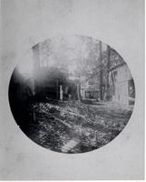Aftermath of 1890 explosion at Hagley Yard