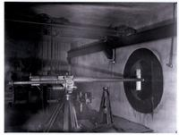 Underground firing range and testing gun, DuPont Company Experimental Station