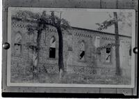 Christ Church after 1890 explosion in Hagley Yard