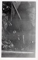 Wreckage after wheel mill explosion in Hagley Yard