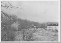 Flooded Brandywine Creek with Breck's Mill and Walker's Mill