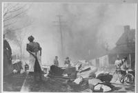 Rokeby Mill fire, Henry Clay Village