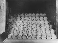 Barrels, pulp keg mill, Hagley Yard