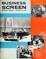 Business Screen Magazine, v. 15, no. 7 (November 1954)