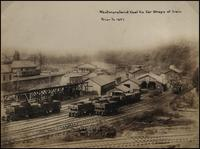 Westmoreland Coal Co. car shops at Irwin, Pennsylvania
