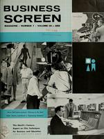 Business Screen Magazine, v. 19, no. 7 (November 1958)