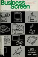 Business Screen, v. 33, no. 4 (July/August 1972)
