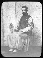 Henry Janvier in Chinese clothing
