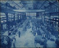 Interior of machine shop