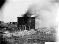 Carney's Point Dry House burning