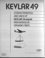 Kevlar 49 : characteristics and uses of Kevlar 49 aramid high modulus organic fiber