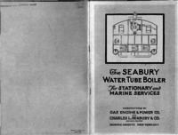 Seabury safety water tube boilers, stationary and marine