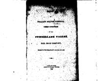 Report of William Milnor Roberts, chief engineer of the Cumberland Valley Rail Road Company, made to the board, on the 23d Oct. 1835