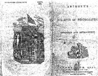 Anthony's bulletin of photographic invention and improvement