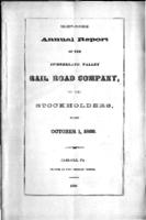 Thirty-fourth annual report of the Cumberland Valley Rail Road Company