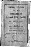 General principles and rules of Pinkerton's National Police Agency