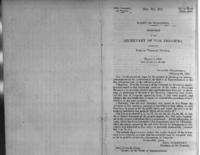 Banks of Wisconsin : report of the Secretary of the Treasury, respecting banks of Wisconsin territory