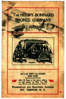 The Henry-Bonnard Bronze Company; Art founders