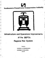 Infrastructure and operational improvements of the SEPTA regional rail system
