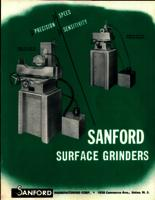 Sanford surface grinders : precision, speed, sensitivity
